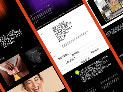 MØDDEN WEBSITE REDESIGN, 2021 agency minimal white cargo.black branding website homepage web design concept web design interface ux ui