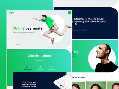 Adyen Full Sizes payment team product design product website web web design landing interface ux ui adyen