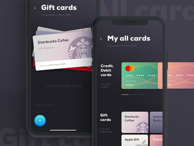 Payment App design cards ux ui mobile apps payment