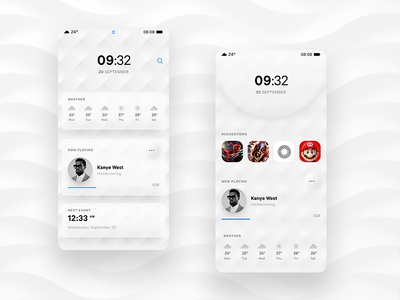 App concept homescreen ui design interface app design ui huawei app