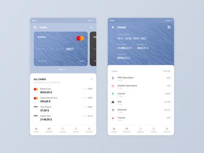 Banks Cards App