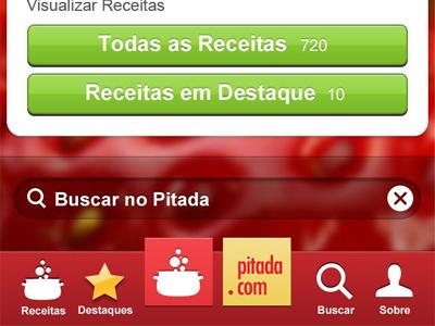 Pitada Iphone ui iphone pitada app
