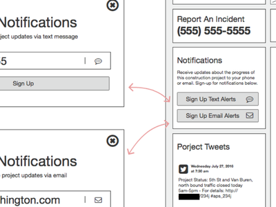 UX Concepting user flow balsamiq ux wireframes