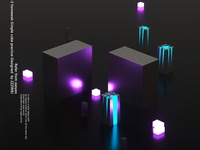 Cube方形C4D三维练习2