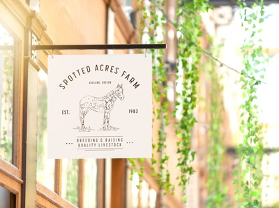 Brand Identity Design – Spotted Acres Farm