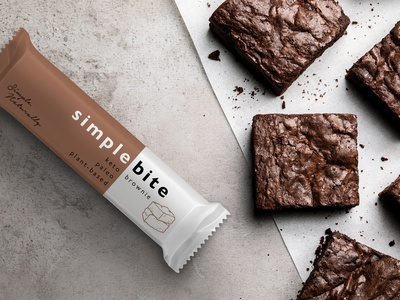 Brand Identity and Packaging Design – Simple Bite