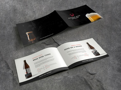 Catalogue Design – Hiding Spot Brewery