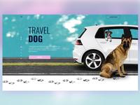Travel Dog Website Design
