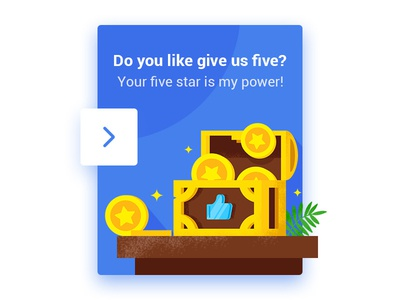 Popup for five star