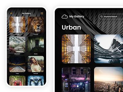 Photo file upload application prototype. iphone app xd ui ux adobexd icon design japan