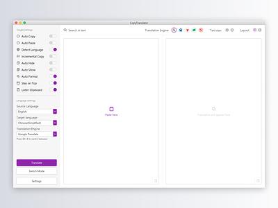 Zero State radar vector ux ui native application open source design app translation zero state