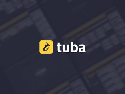 Tuba logo icon app logo app tube logo design branding agency branding concept branding and identity branding design logos logotype branding logo