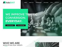 Adsbait homepage
