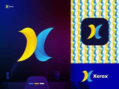 X Letter Mark Logo (Xerox) logo art gallery logo trend logo trend 2022 dribbble brand identity x letter modern logo ux illustration vector logo design identity icon design branding logo motion graphics graphic design 3d animation ui