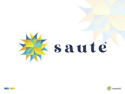 Modern Logo Mark || Saute|| modern logo logo png logo vector logo maker photo symbol abstract motion graphics graphic design 3d animation ux ui illustration vector logo design logo identity icon design branding