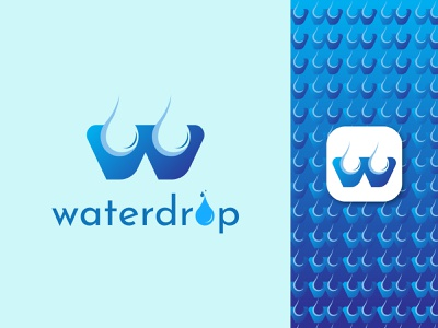 W Letter Modern Logo || Waterdrop || graphic design 3d animation ux illustration vector logo design logo identity icon design branding waterdrop logo water logo modern logo w letter modern logo w letter logo w letter w logos w logo