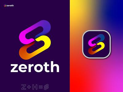 Z Letter Modern Logo Mark || zeroth || z logo trend logo folio 2022 motion graphics graphic design 3d animation ui illustration vector logo design logo identity icon design branding h logo z letter logo z modern logo z logo z letter