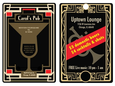 1920s Style Posters posters 1920s beer pubs vector design