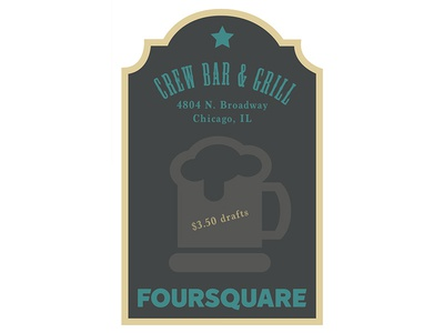 1920s Style Posters 1920s posters vector illustrator foursquare bar design