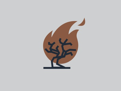 Blacktree burnt to a crisp artillery range gun burn flame wildfire fire blacktree tree black
