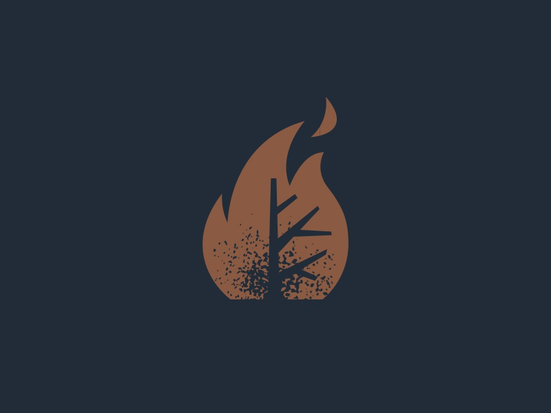 Blacktree leaf artillery burn flame wildfire fire blacktree tree black