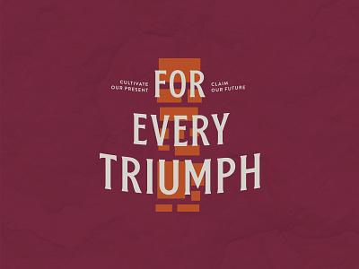 For Every Triumph campaign pride spirit bordonaro spur stone