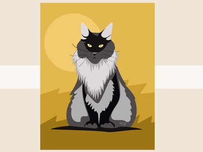 The Maine Coon by IxCO