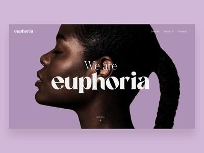 Web UI - Hairstudio Homepage ux minimal ui website web design branding