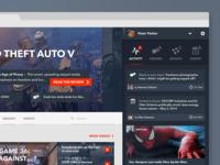 Alt concept - expanded user portal