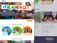 Generation Nutrition campaign landing page WIP