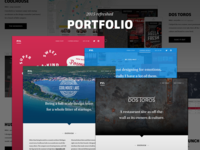 Portfolio site refreshed and updated for 2015!