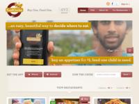 FoodCircles landing page
