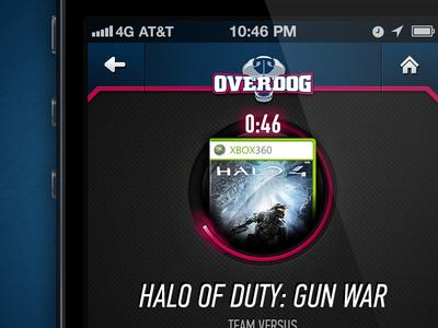 OverDog iPhone app - Challenge