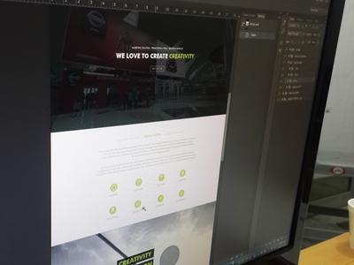 Adrox Website Design