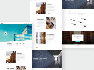 Architecture firm webdesign