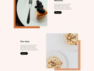 Kate s Bakery Page Concept