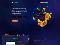 Landing Page - Clickloot