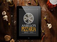 Aniello's Pizzaria logo