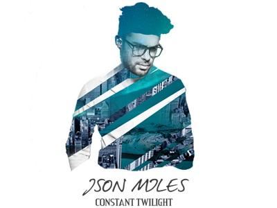 JSon Myles LP cover rock logo album cover