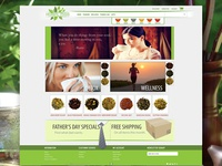 Herbal Miss UX layout