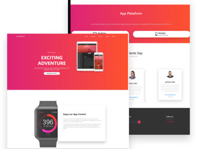 Red App Page