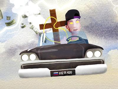 catafalque driver