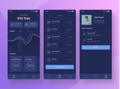 LinkMinning - BitCoin MobileApp
