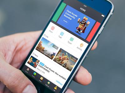Game Community course english design ui community game app 9 10 ios 6 iphone