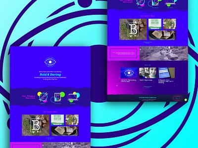 Website Display Dribbble 01 brand design typography web design website graphicdesign