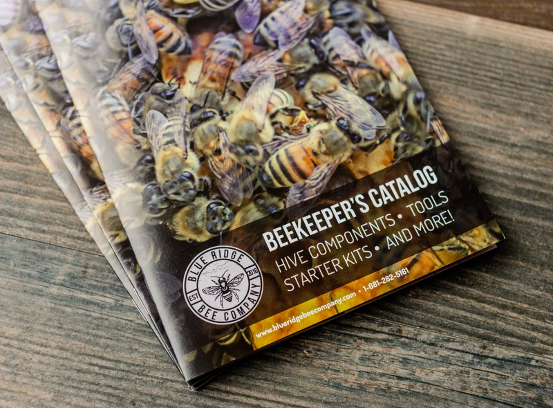 Blue Ridge Bee Company Catalog Photos brand design smallbusiness beekeeping catalog product photography print design print branding graphicdesign design