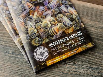 Blue Ridge Bee Company Catalog Photos brand design smallbusiness beekeeping catalog product photography print design print branding graphicdesign design