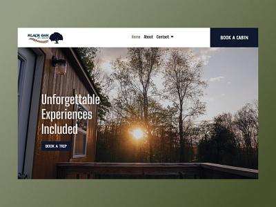 Black Oak Atv Resort Website web development webdesign website brand design design