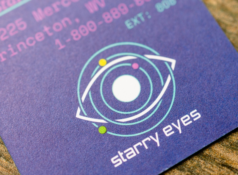 Starry Eyes 2020 Business Cards businesscard print design logo brand design branding design graphicdesign