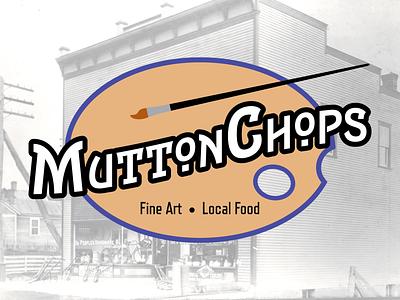 MuttonChops Branding branding logo social media design brand design graphicdesign design